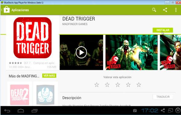 Descargar Dead Trigger para pc