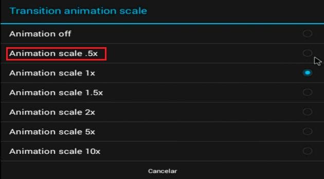Acelerar Android 4.4 KitKat 1