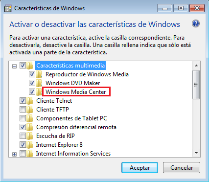 desinstalar Windows DVD Maker