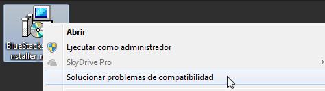 Error al instalar BlueStacks Solución