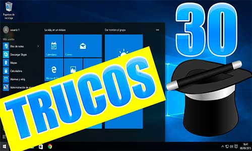 Trucos para Windows 10